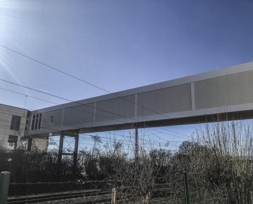 Neubau einer Verbindungsbrücke