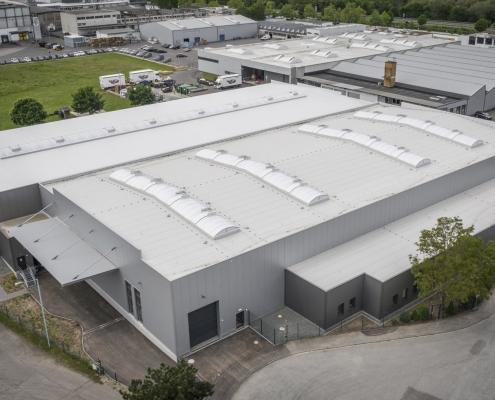 Neubau einer Produktionshalle 3C in Trier