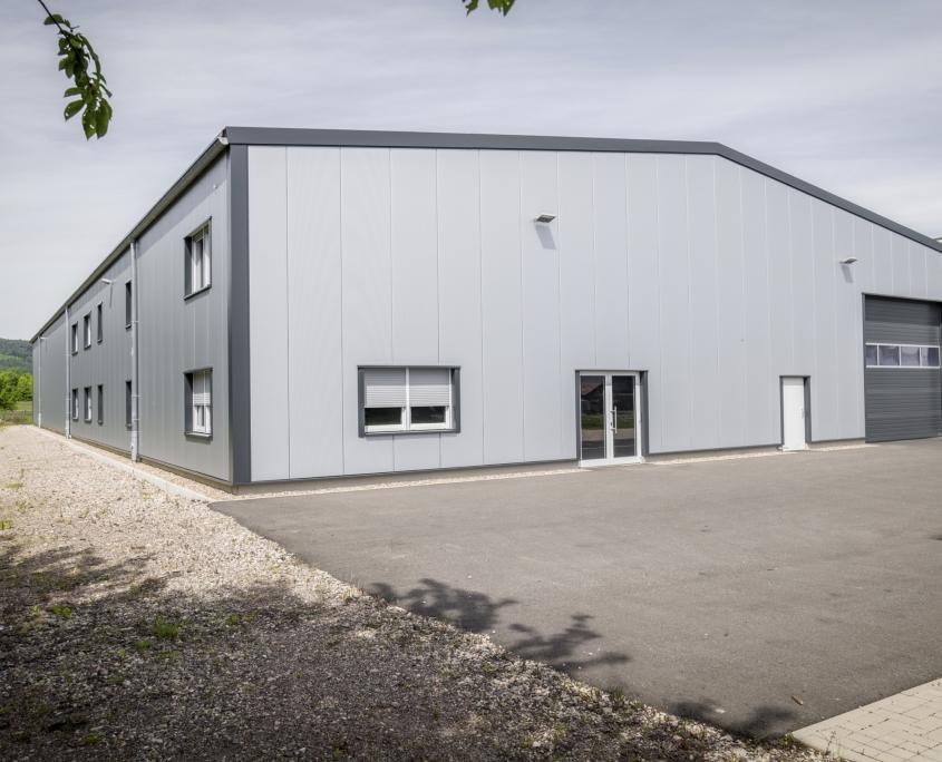 Neubau einer Halle in Föhren