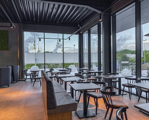 Neubau eines Back-Cafés in Mayen, Bäcker Lutz